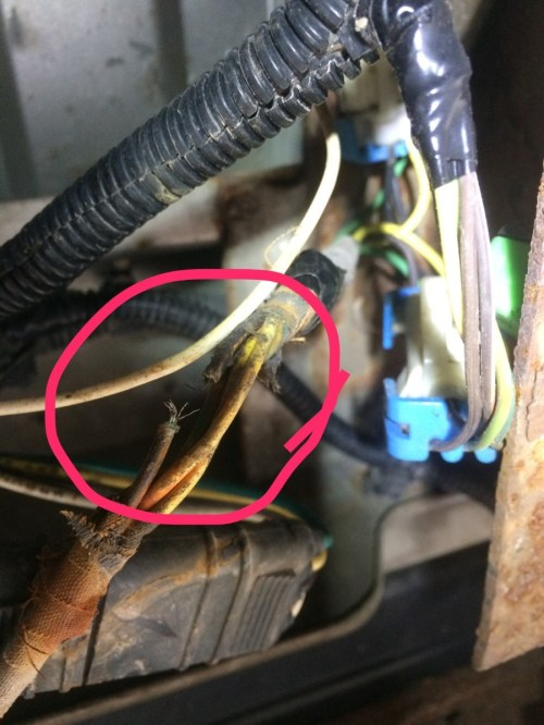 small resolution of 1991 gmc left tail light wiring