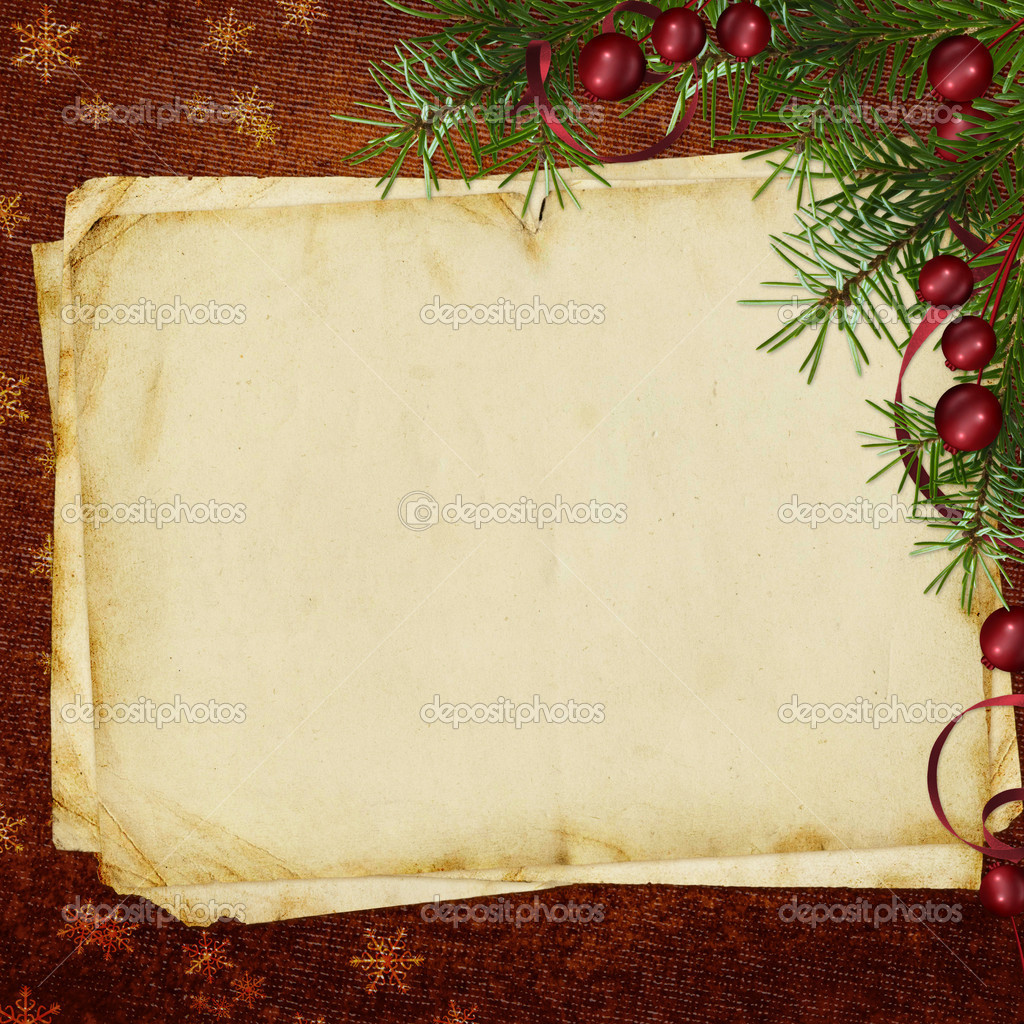 Congratulation Card To Christmas And New Year Stock