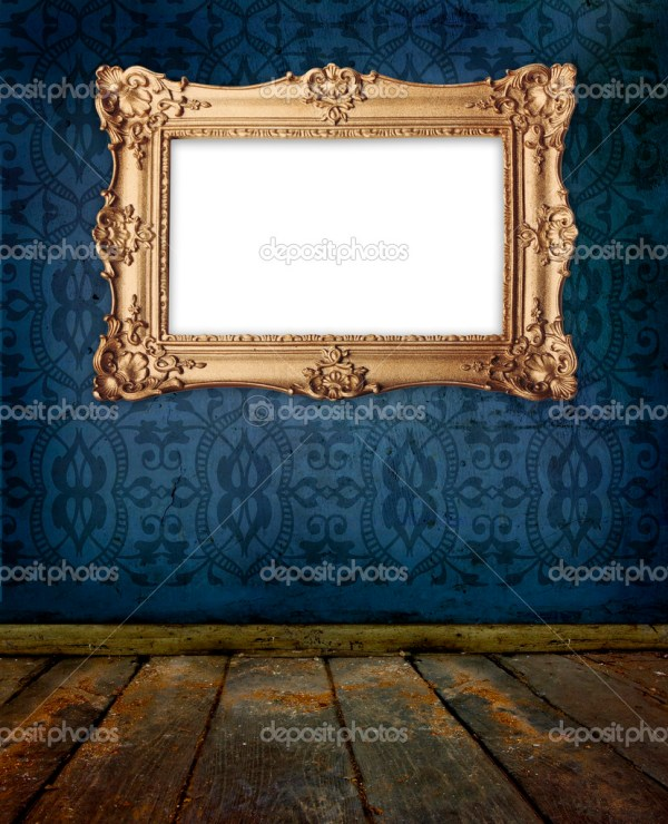 Gold Frame Hanging Wall In Stock