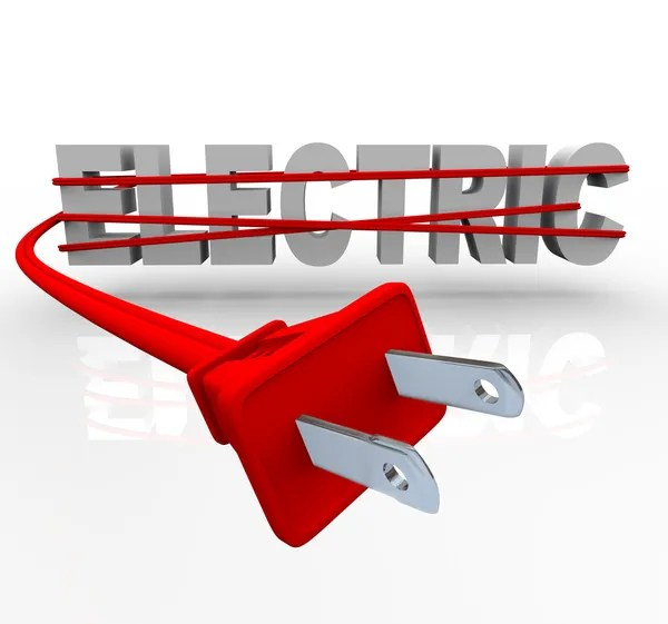 Electric - Wrapped in Power Cord — Stock Photo #4439477