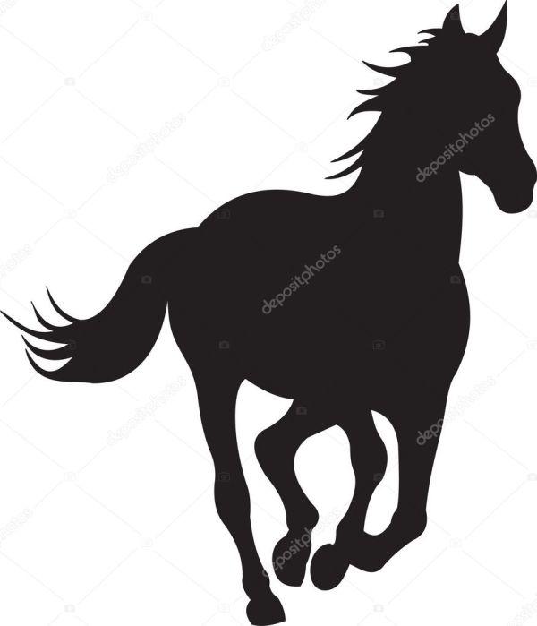Horse Silhouette Vector Stock Abrakadabra #5267006
