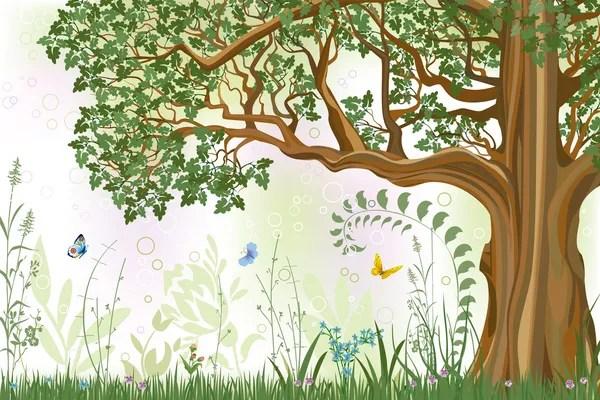 Meşe ağacı — Stok Vektör #4965742