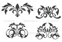 Vintage floral patterns  Stock Vector  Seamartini #4928829