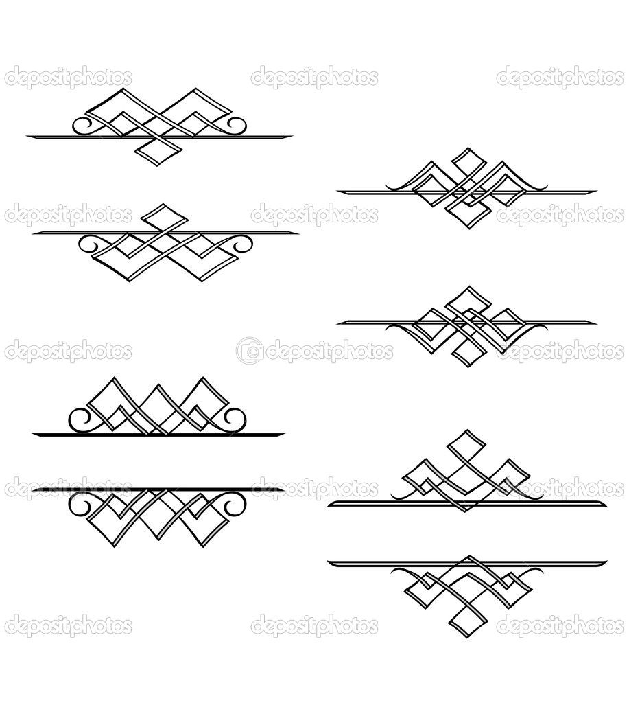 Vintage monograms — Stock Vector © Seamartini #4928831