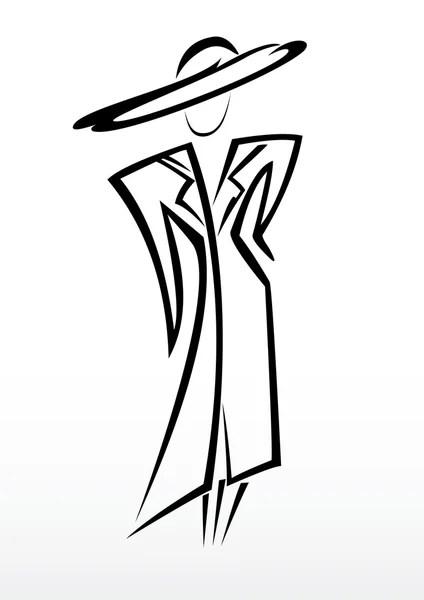 Fashion Beauty Silhouette