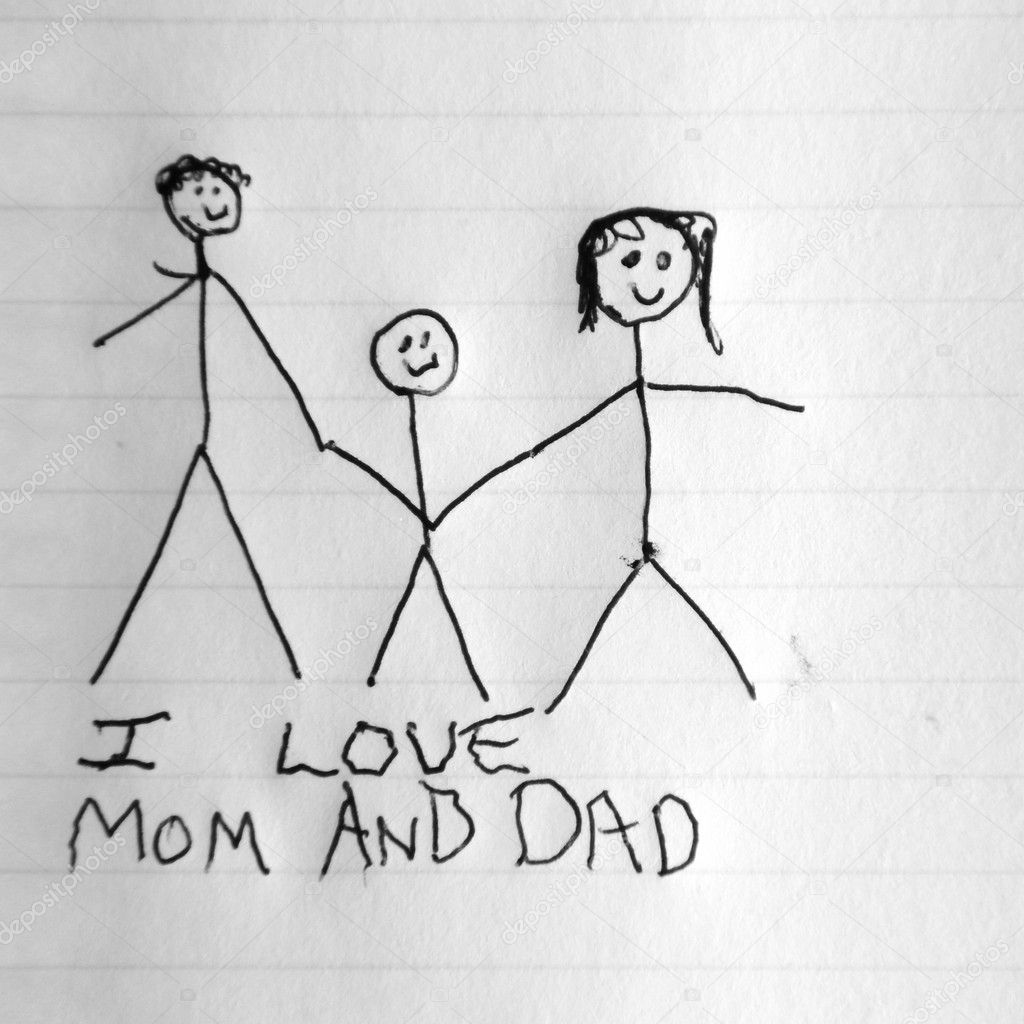 Download I Love Mom And Dad — Stock Photo © vlue #4630731