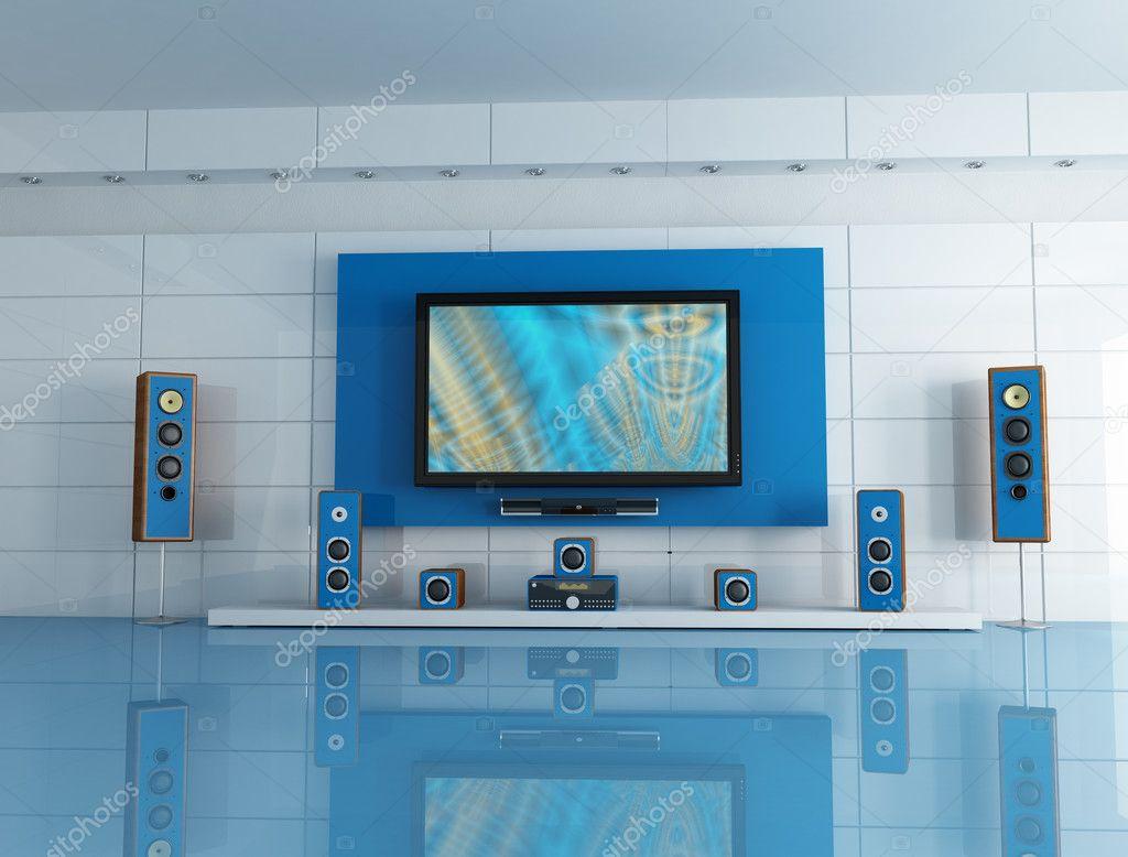 https depositphotos com 5029570 stock photo blue cinema room html