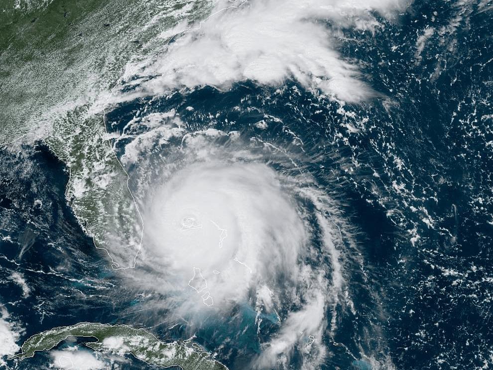 hurricane dorian satellite 130pm mon