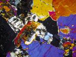 Polarized Observation of Biotite Granite