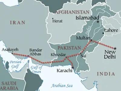 Iran-Pakistan-India Pipeline