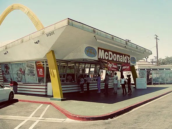 A McDonald's burger sold for 15 cents in 1955. It costs as much as $1.96 today.