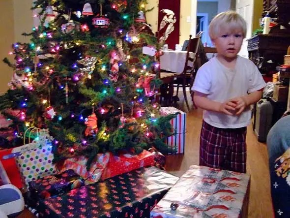 85 percent of artificial Christmas trees are made in China. So are 80 percent of toys