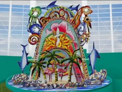 Image result for images io marlins home run sculpture