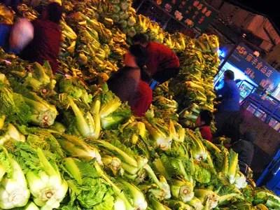 Brassicas vegetables