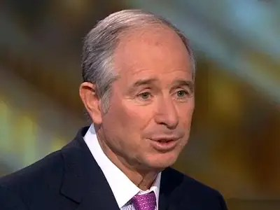 Steve Schwartzman, chairman and CEO, Blackstone Group