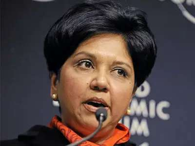 Pepsi CEO Indra Nooyi worked the graveyard shift as a receptionist while putting herself through Yale.
