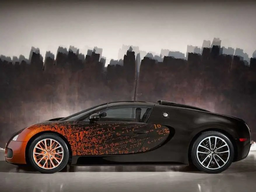 The Newest Bugatti Veyron Is A Gorgeous Piece Of Nerdy, High-Speed Art
