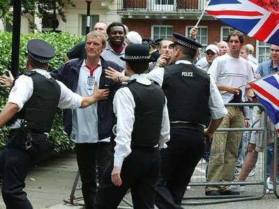 london uk britain U.K. protest police crowd