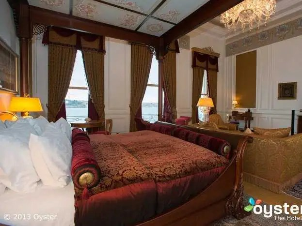 The Sultan Suite at the Ciragan Palace Kempinski: €30,000/night