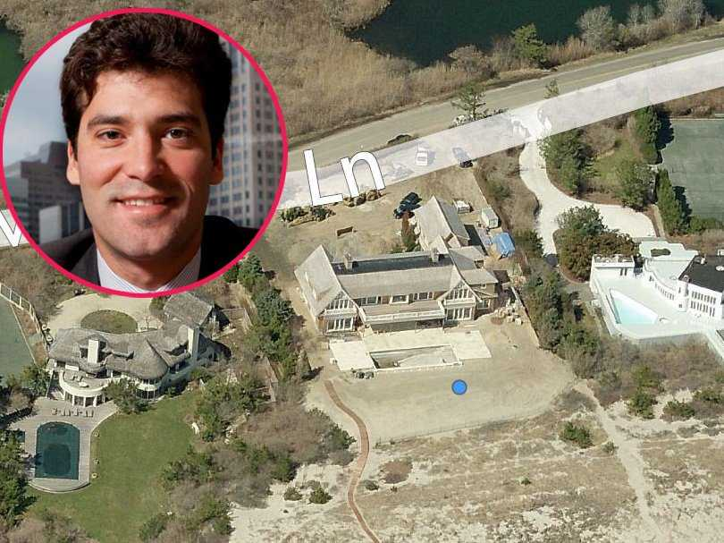 And number #82 on Forbes Billionaires list Alejandro Santo Domingo Davila lives in this 9,000-square-foot mansion with floating staircase, glass railings and outdoor dining room that's valued at $17.7 million.