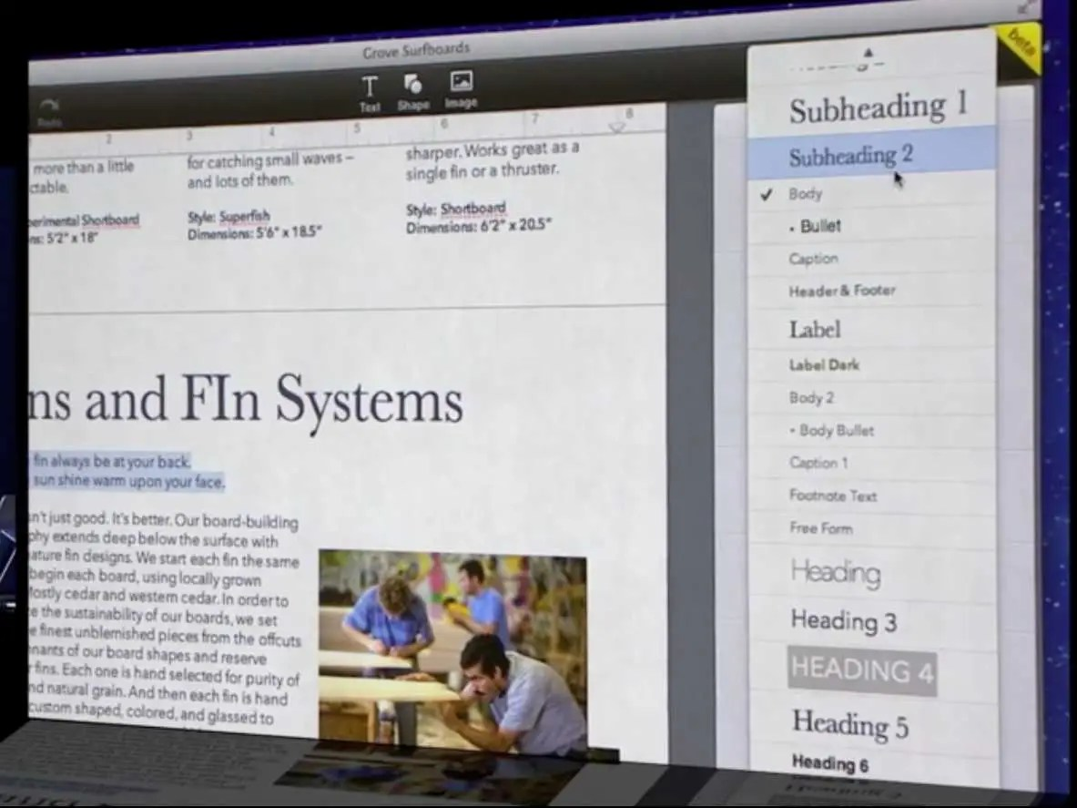 iWork in the Cloud is challenging Google Docs in the online productivity space.