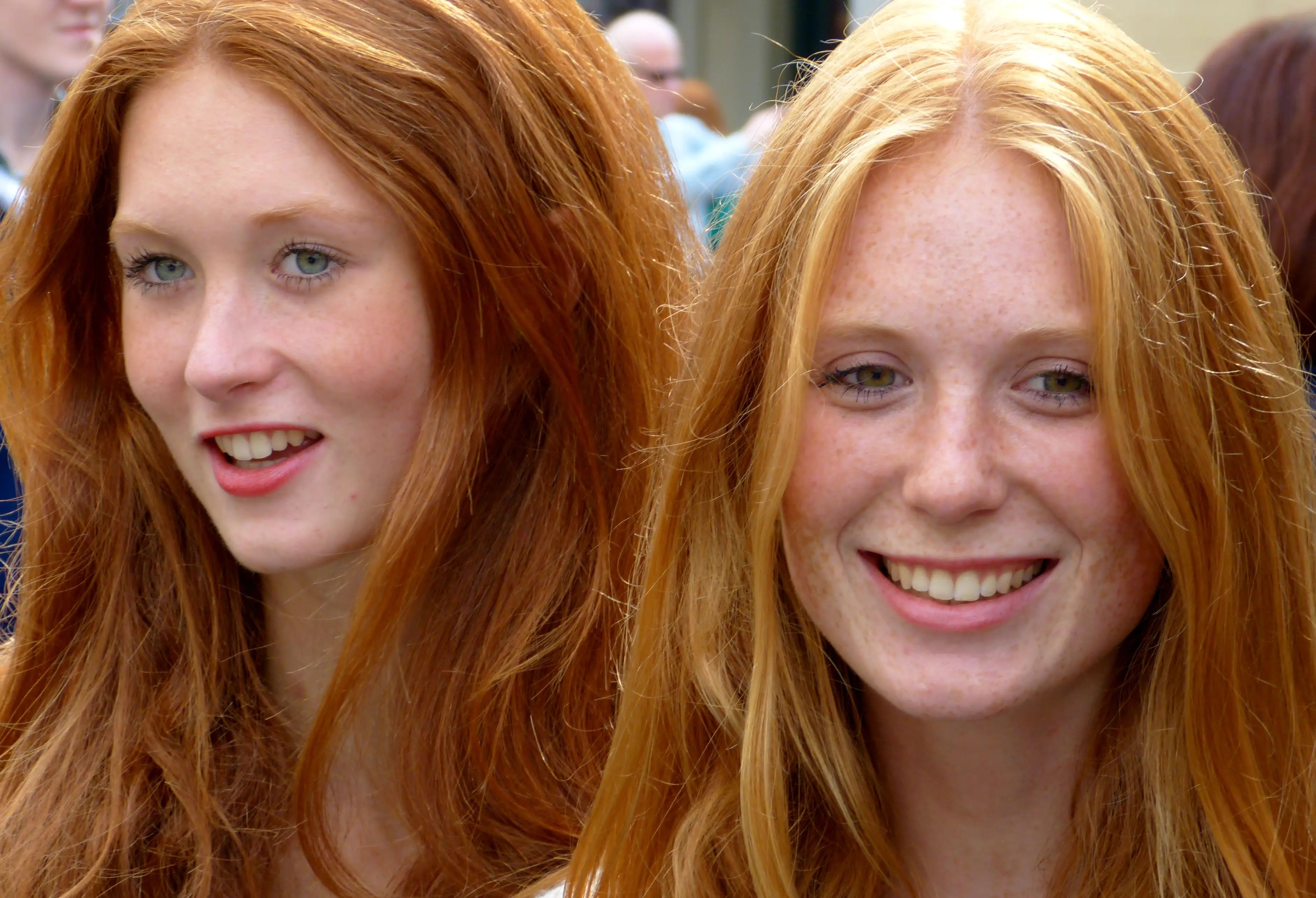 """Blondes and redheads are not """"going extinct."""" Genes do not go extinct. Recessive genes, like the gene for red or blonde hair color, can be carried from generation to generation without emerging as a hair color."""