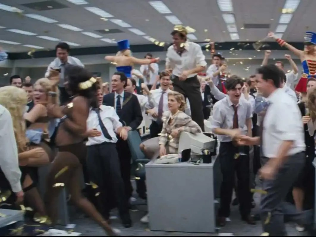 Wolf Of Wall Street Marching Band Scene  Business Insider