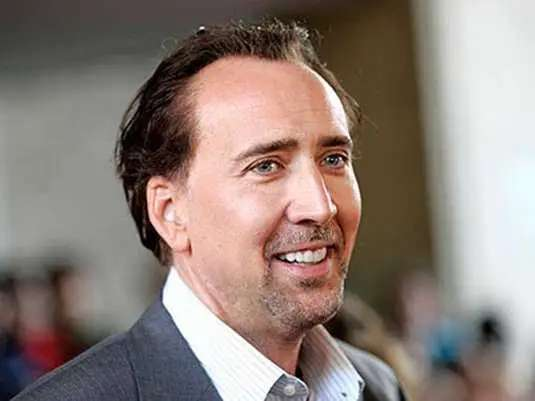 Nicholas Cage won't eat pork because he doesn't think the animals have