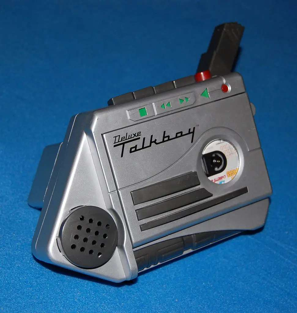 "After watching ""Home Alone 2,"" everyone wanted a Talkboy. This little gadget let you record and playback whatever you wanted, plus speed up or slow down recordings to make yourself sound ridiculous."