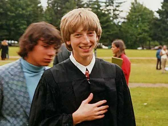 Bill Gates circa 1973