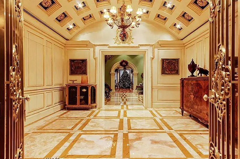 #1 An insanely beautiful mansion on New York's Upper East Side was listed for $114 million. The six-level, 20,000-square-foot property has a saltwater pool with spa, panic room, heated stairs and floors in the parlor, plus an onyx elevator.