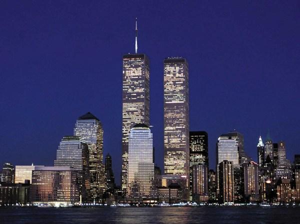 New York City Skyline Twin Towers