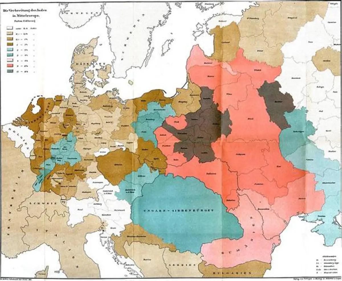 jewish surname map
