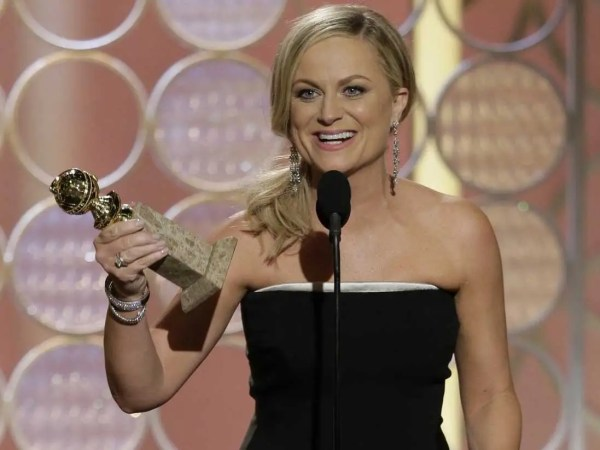Golden Globes Amy Poehler' Actress Win Reaction