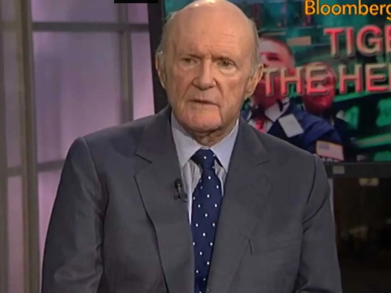 Julian Robertson served in the U.S. Navy after college.