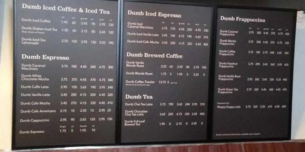 Starbucks Hits Back At Dumb Starbucks  Business Insider