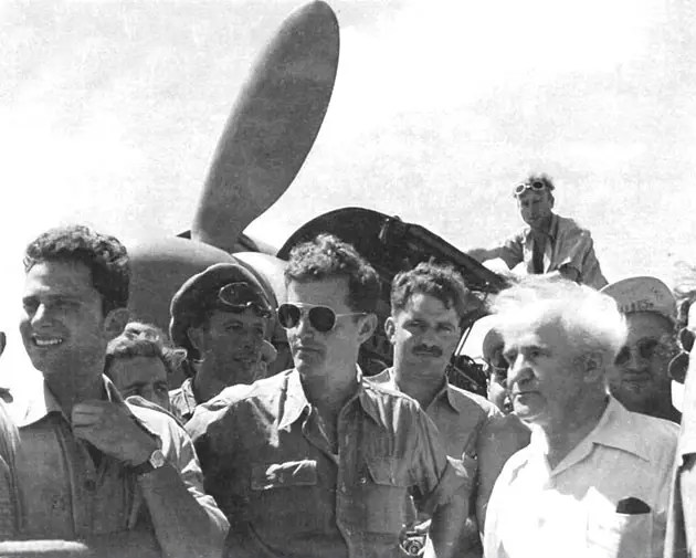 Israeli Air Force, David Ben-Gurion, Modi Alon