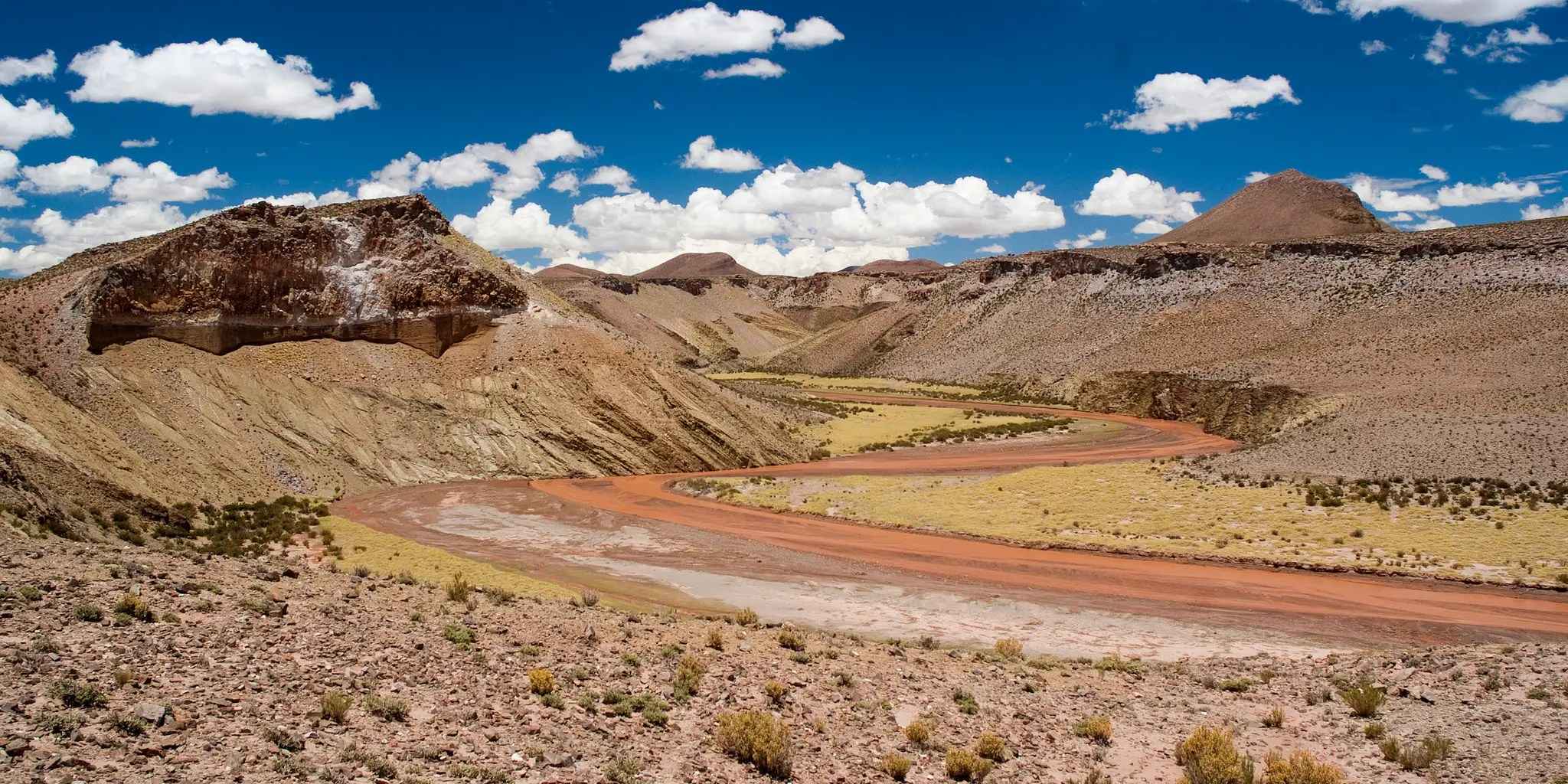 Ruta 40 stretches more than 3,000 miles, from Argentina's northern border to its southern tip. It crosses 18 rivers and passes 20 national parks, making it a perfect scenic drive.