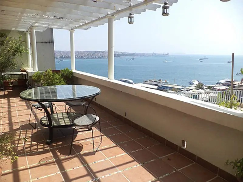 In Istanbul, $1.2 million gets a waterfront apartment with three bedrooms and a large terrace overlooking the Black Sea.