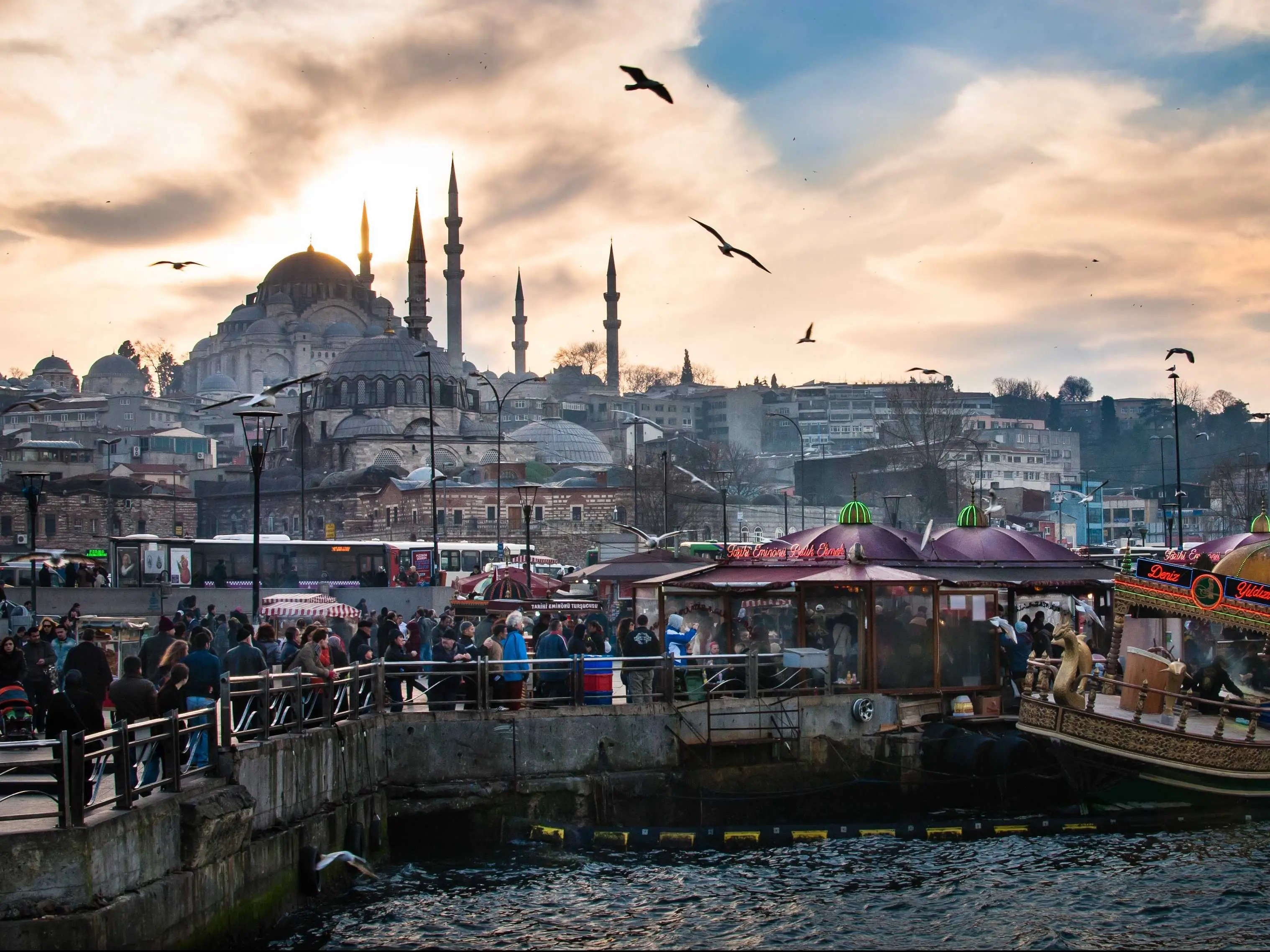 The Süleymaniye Mosque presides over Istanbul like the sultan its named for, Süleyman the Magnificent.