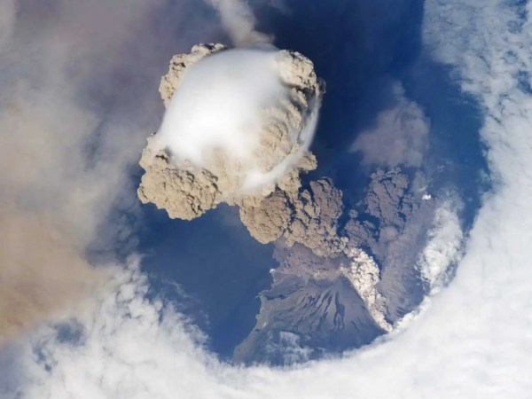 Erupting Volcano Space - Business Insider