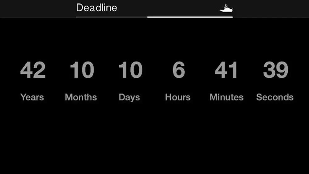 Deadline app
