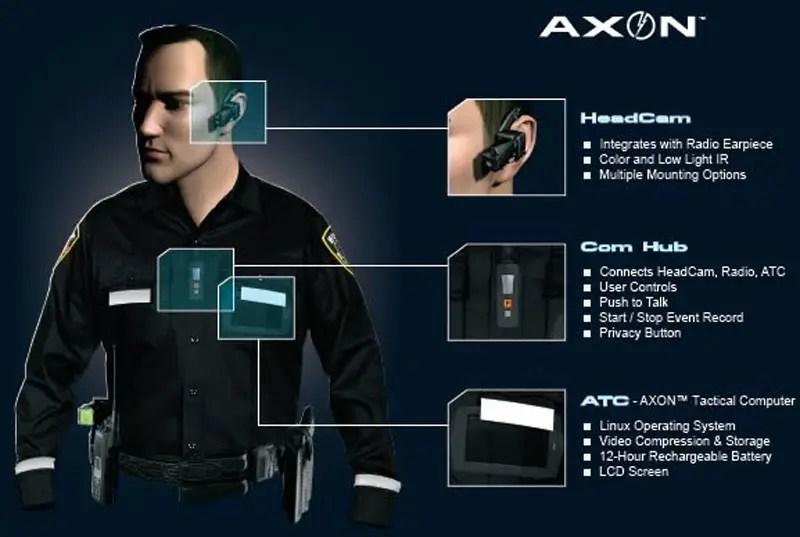 taser axon camera