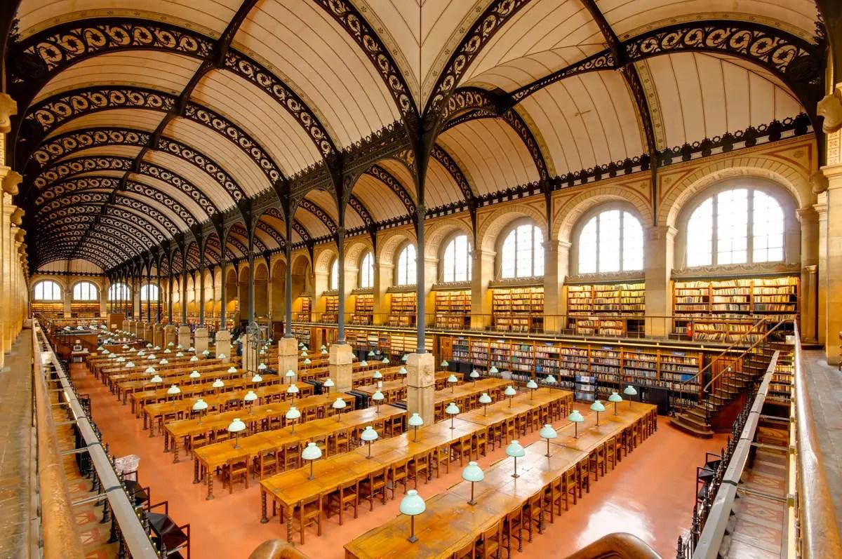 Sainte Genevieve Library