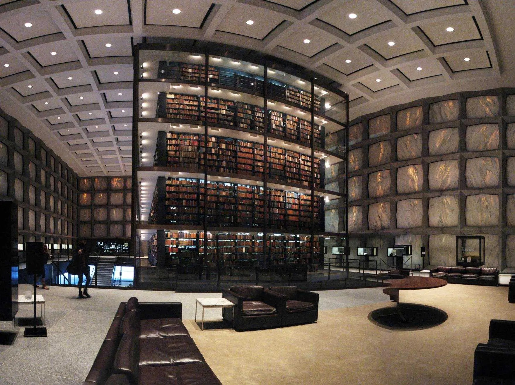 Libraries From Around The World - Beinecke Rare Book