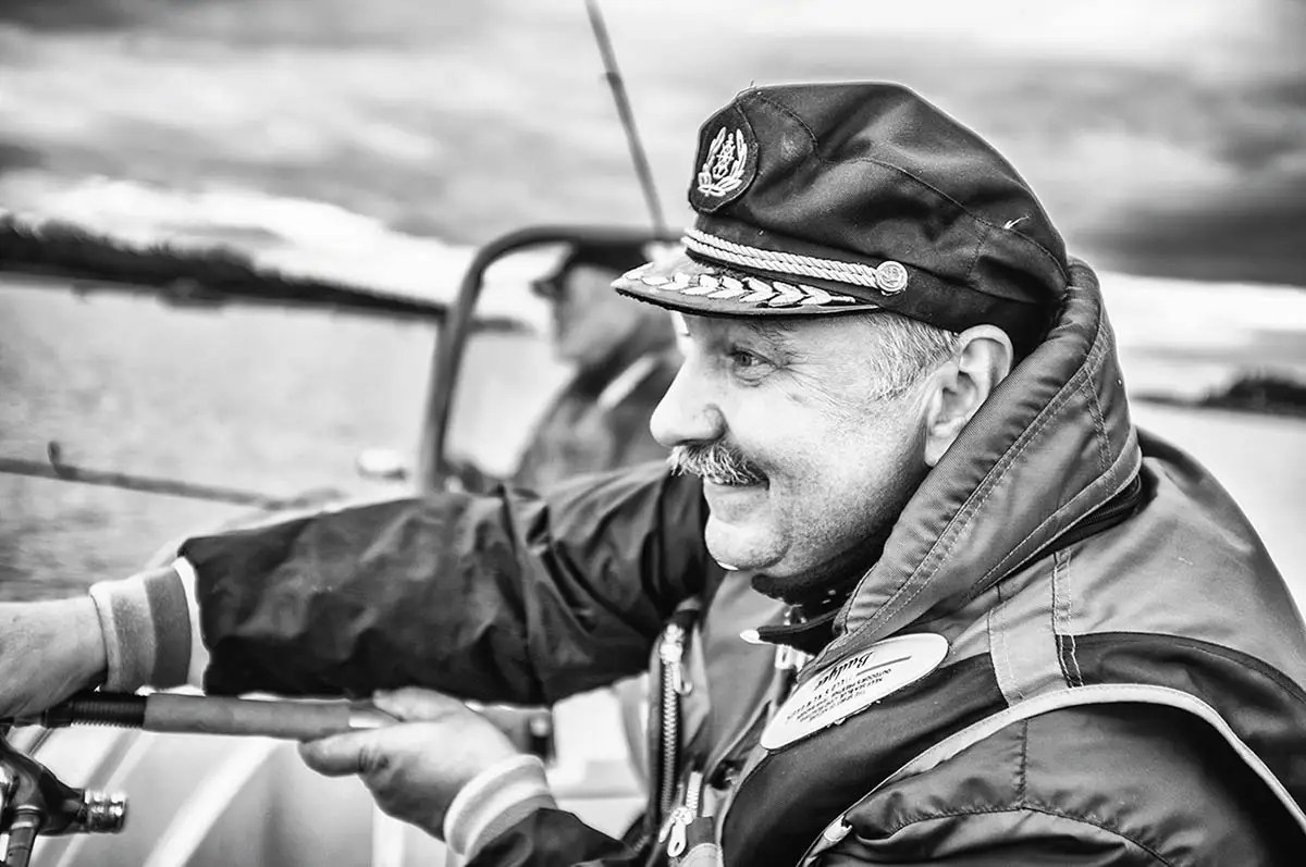 "Sergey, age 57. Profession: Construction engineer. Passion or Dream: ""I love music and fishing."""