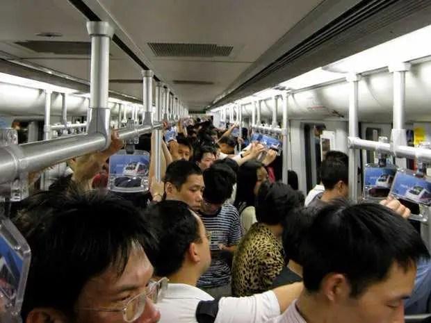 China, Beijing, commuting