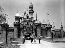 Disneyland Fantasyland 1955