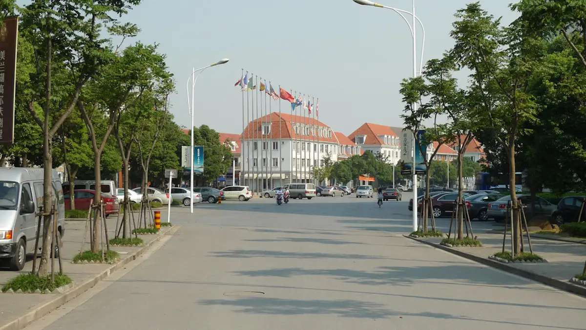 Sweden was also knocked off as part of the overly ambitious 1 City — 9 Towns project. Located outside Shanghai, the North Europe Town is meant to resemble the Swedish town of Sigtuna and has Scandinavian influences, including a replica of Sweden's Lake Malaren and Iceland's House of Parliament. Today it's a ghost town.