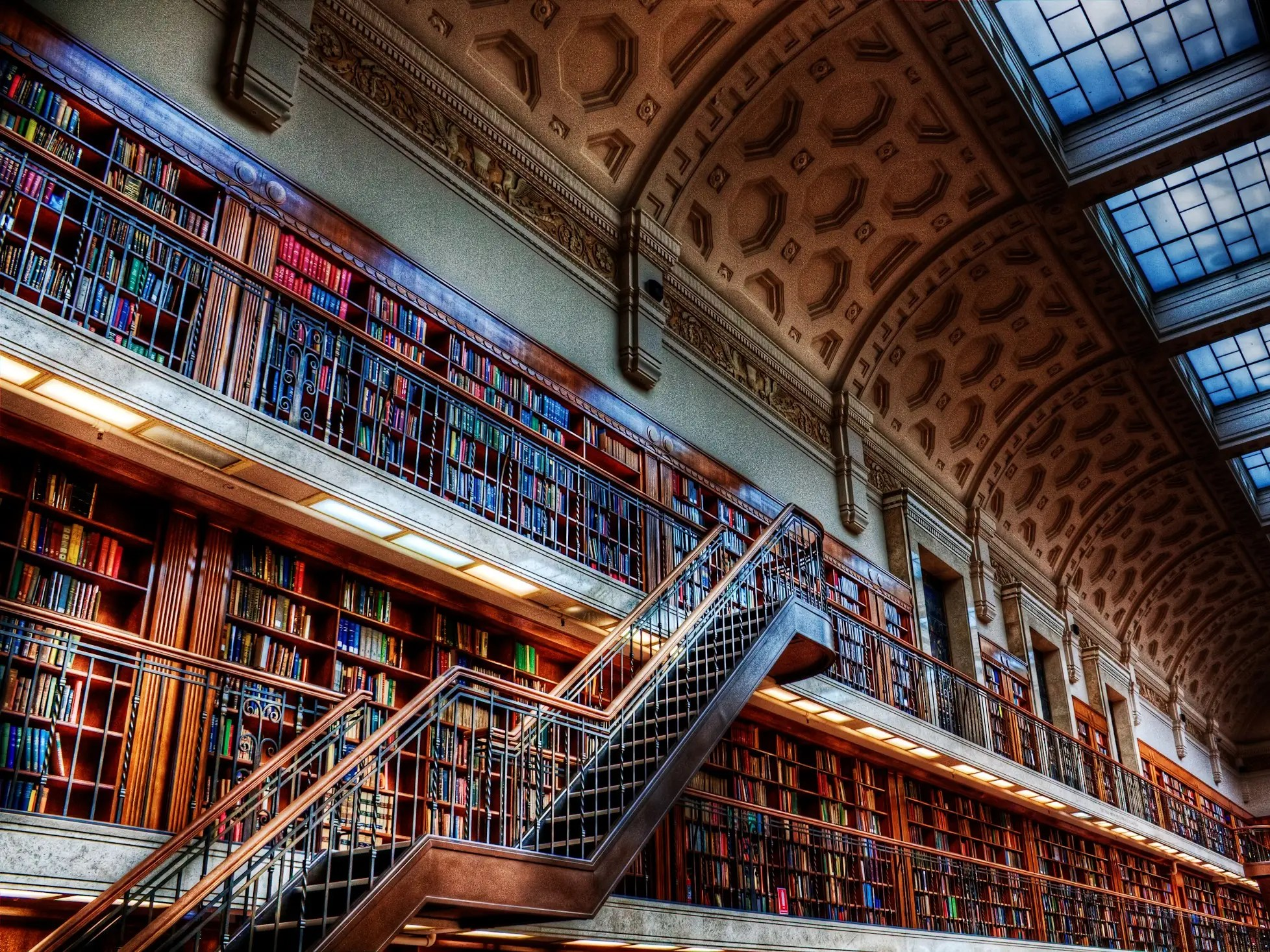Built in 1845, the State Library of New South Wales in Sydney is the oldest library in all of Australia. The Mitchell Wing is one of the prettiest parts of the library.